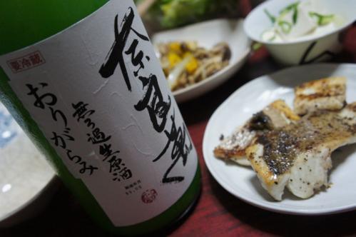 奈良萬純米生酒おりがらみ01