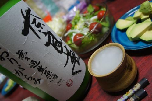 奈良萬純米生酒おりがらみ02
