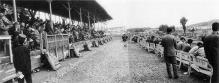 昭和39年の盛岡競馬場スタンド