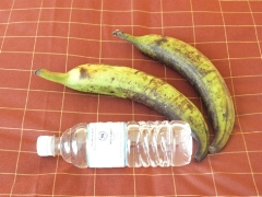 ブルネイ市場バナナ