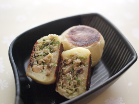 チャオムジャガ餃子2