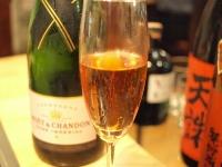 誕生日シャンパン