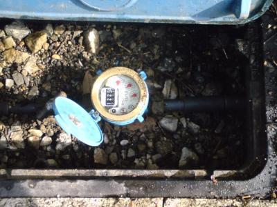 水道のメーター