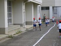 マラソン大会。