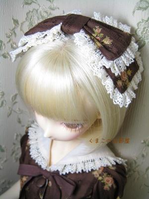 リボン型髪飾り