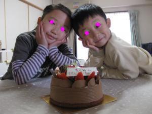 バースディー(匠・6歳)