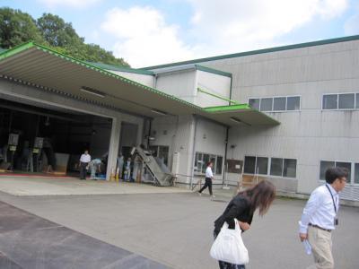 荒茶加工場 「チャピア清川」