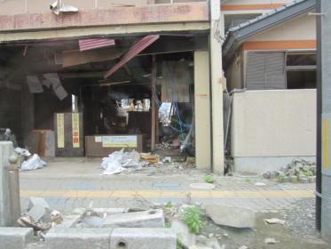 釜石市、かつての繁華街