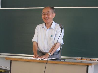 分科会講師・森靖雄先生