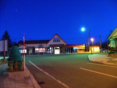 11月29日夕方の川湯温泉駅