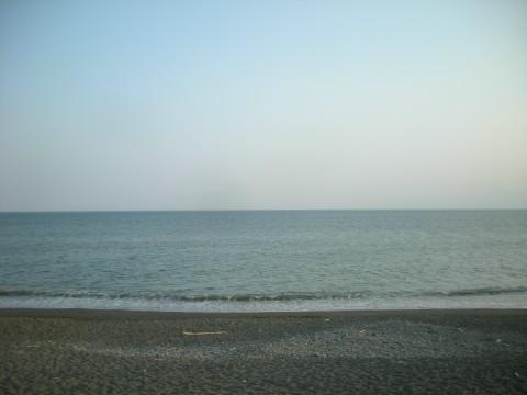 茅ヶ崎の水平線b