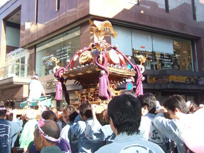熊野神社のお神輿2