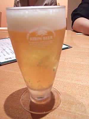 クーポンのビール