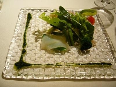 g2スミイカと真鯛のカルパッチョ