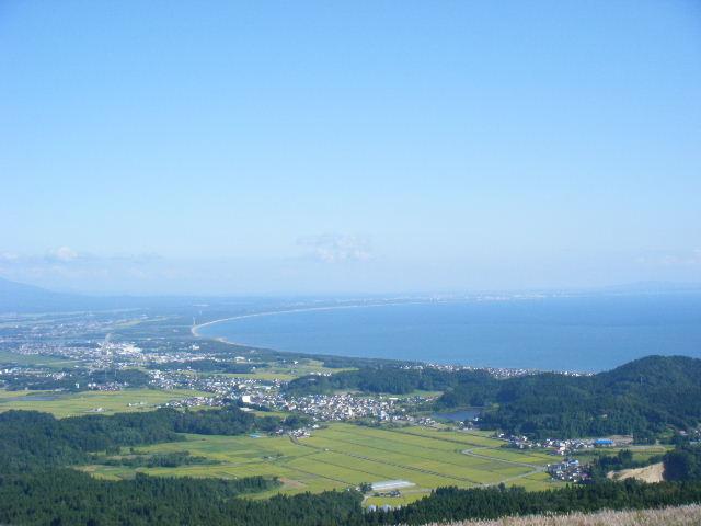 秋田市方面