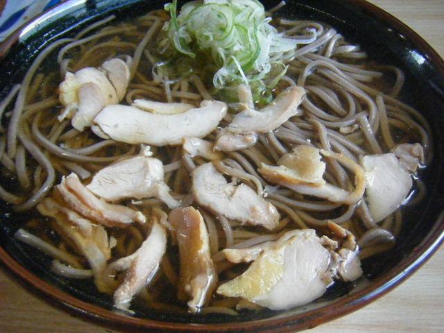 冷たい肉そば ¥650