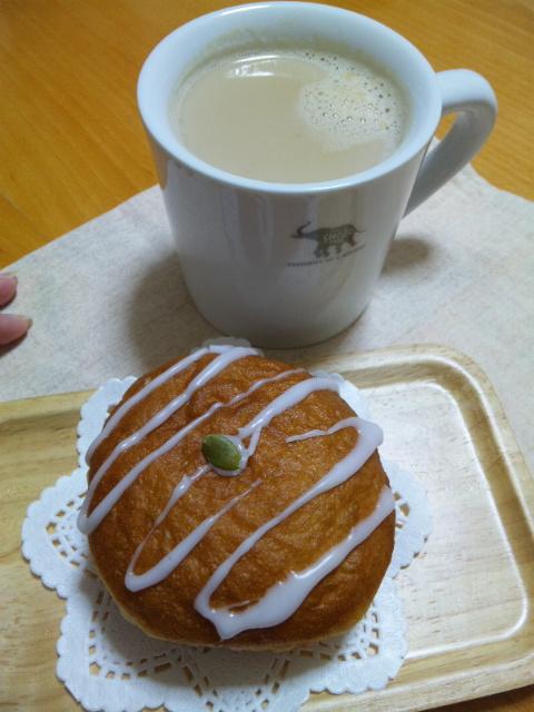 美味しいカフェラテ頂きました