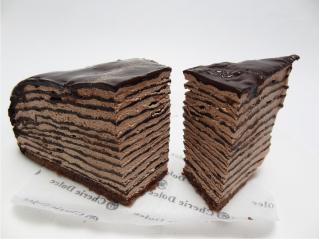 生チョコミルクレープ3