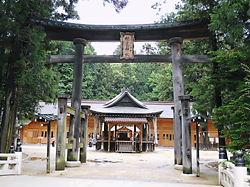 穂高神社二の鳥居