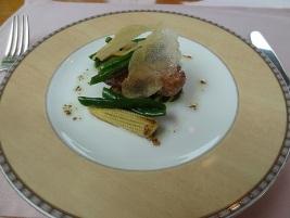 地鶏の香草風味焼き