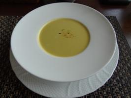 カボチャと生姜の冷製ポタージュスープ