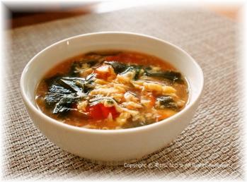 トマト味噌スープ