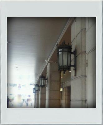 レトロな街燈