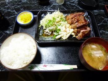 サーロインステーキ定食