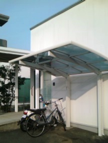 自転車置き場写真