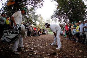 Bubba Watson at the 2012 Masters 5