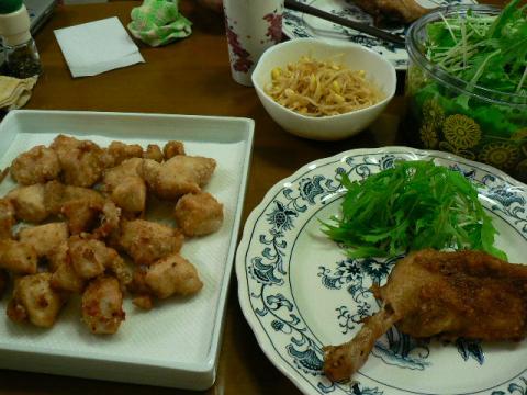 2009年9月4日夕食