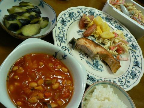 2009年10月9日夕食