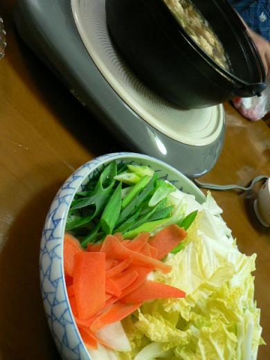 2009年10月13日夕食