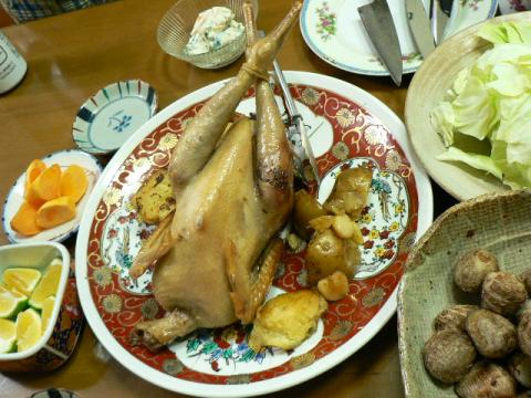 2009年10月15日夕食