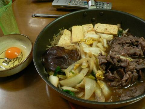 2009年10月18日夕食