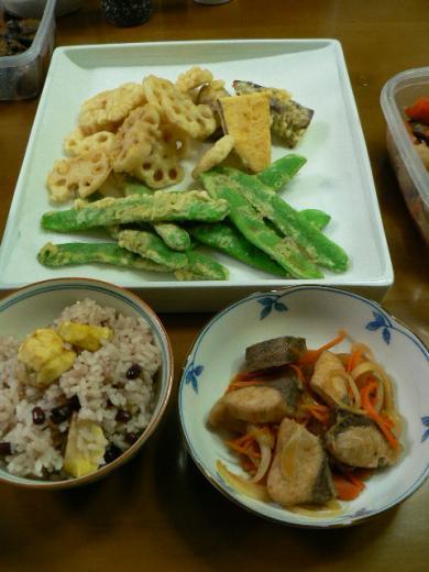 2009年9月20日夕食
