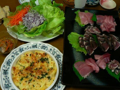 2009年9月24日夕食