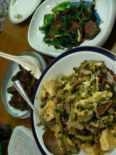 2009年8月28日夕食