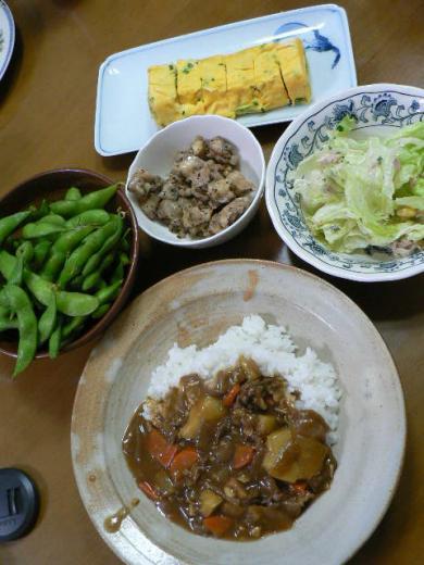 2009年9月29日夕食