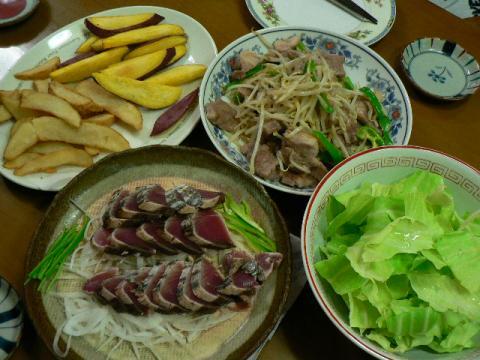 2009年9月30日夕食