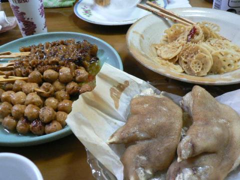 2009年8月31日夕食