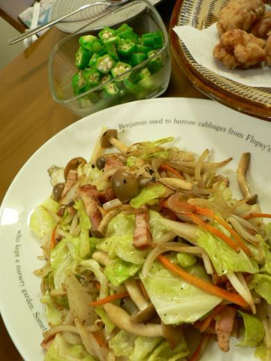 2011年7月11日夕食