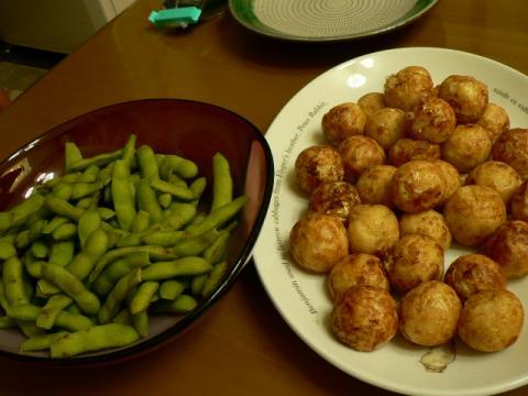2011年7月17日夕食