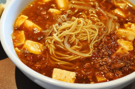 洋明マーボー麺アップ