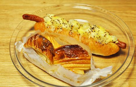 KAZEパン2種