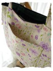 トート 紫花 そとぽけ