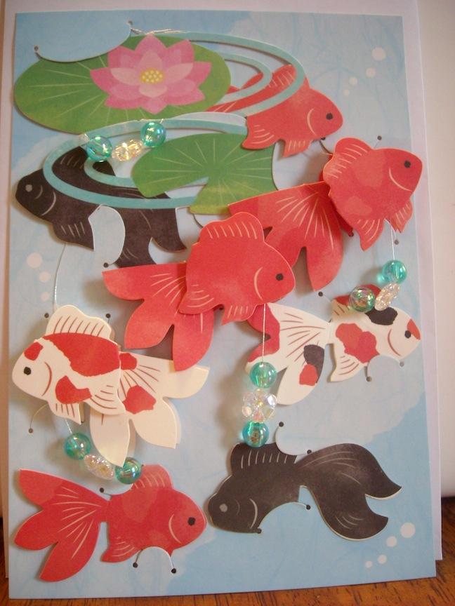 カード金魚