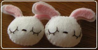 2009.9.うさぎ&くまゴム 04