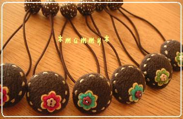 2009.10.花ヘアゴム 01