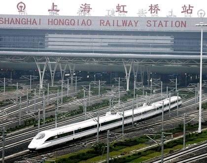 624 新一代列車CRH380在京滬高鐵實驗運行